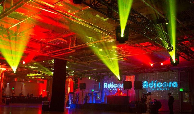 Adicora Swimware & Seattle Corporate Event Lighting - R90 Lighting azcodes.com