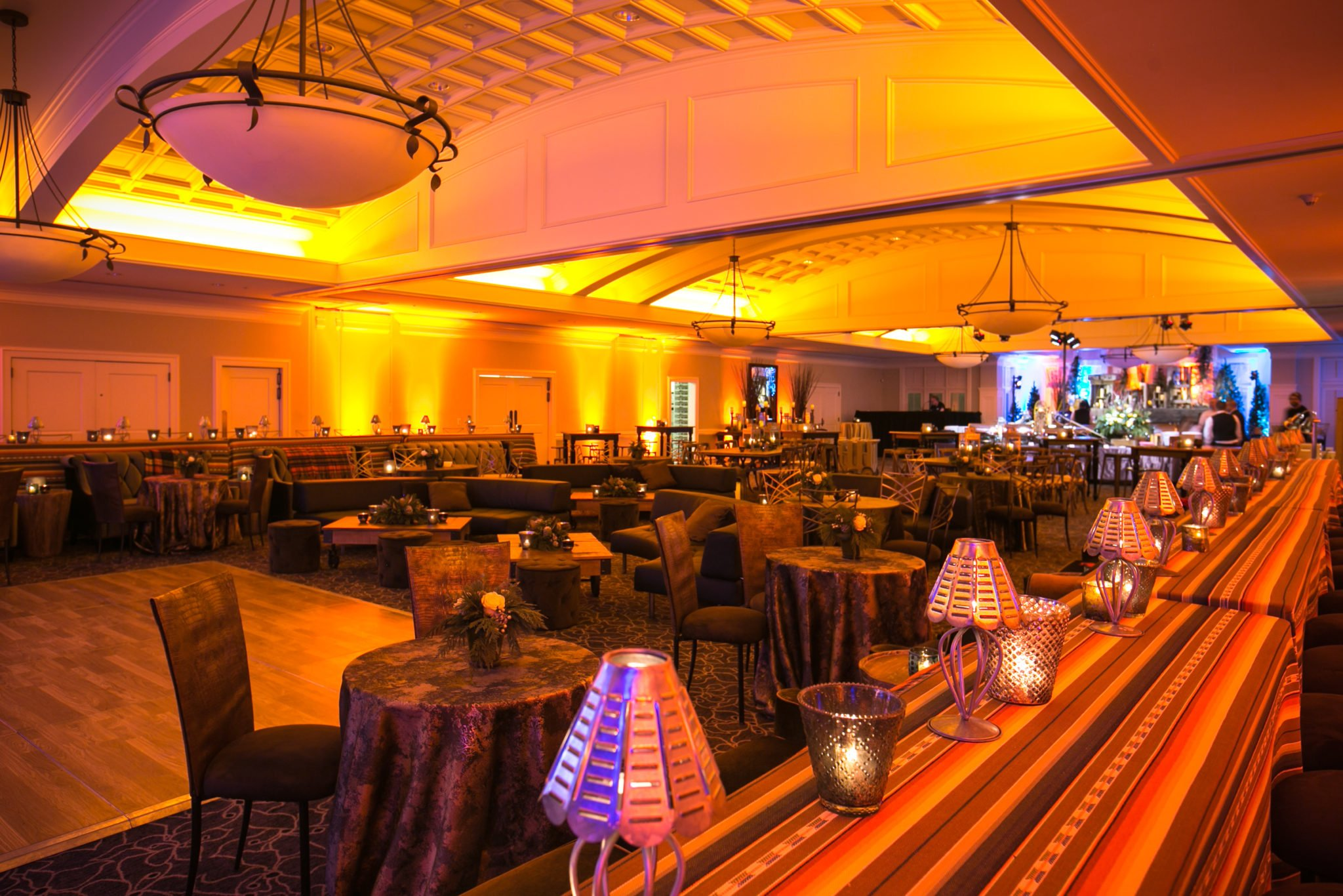 Seahawks Holiday Party 2015 & Seattle Corporate Event Lighting - R90 Lighting azcodes.com