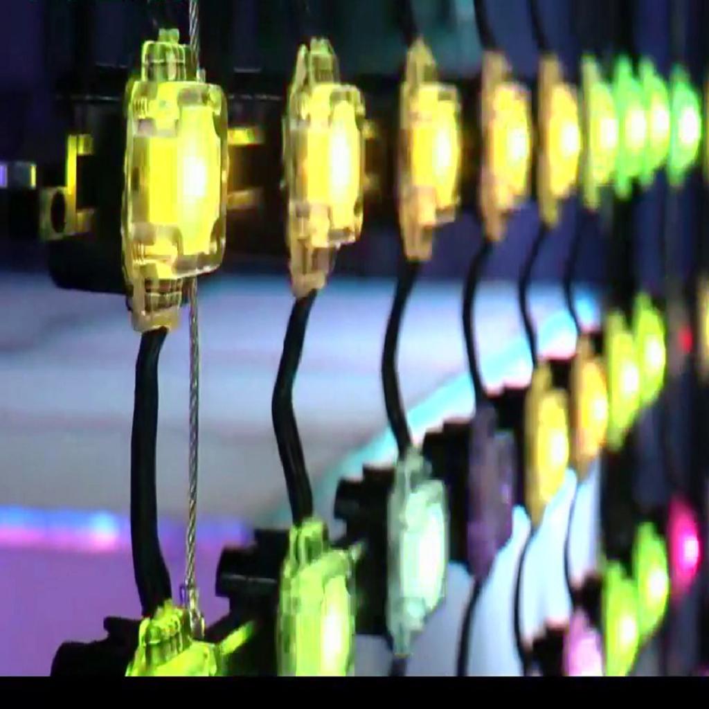 VTeam LED Mesh Screen EcoDot